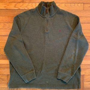 Polo Men's XL Quarter Zip Pullover